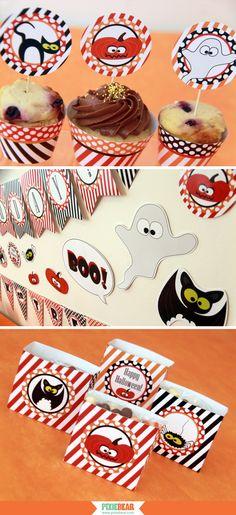 Halloween Birthday - Halloween Kids Party - Halloween Decorations - halloween decoration printables