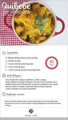 quibebe-abóbora- Comida típica brasileira, e acompanha normalmente carne frango ou peixe.É uma espécie de purê de abobora