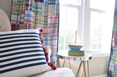 A nautical nursery w