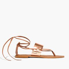 katya lace-up sandal / madewell