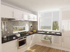 Diseño interior vivienda. cocina