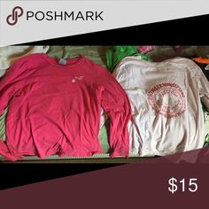 Old navy long sleeve Same design on front and back of both Tops Tees - Long Sleeve