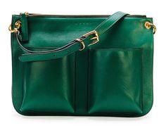 05a197f01c Marni Bandoleer Soft Leather Shoulder Bag Coach Bags Outlet