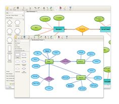 er diagrams software by creately to easily visualize your database structures - Erd Diagram Generator