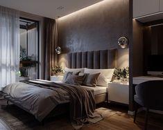 Modern Luxury Bedroom, Luxury Bedroom Design, Room Design Bedroom, Modern Master Bedroom, Home Room Design, Luxurious Bedrooms, Home Decor Bedroom, Contemporary Bedroom, Aesthetic Bedroom