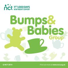 NCT branches across the UK organise relaxing and informal get-togethers for expectant and new parents.