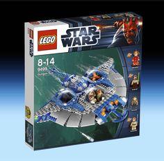 9499 Gungan Sub (2012) - 465 pieces, 4 mini-figures.