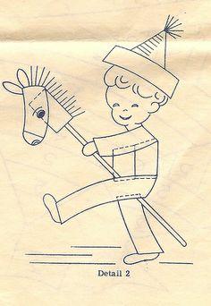 Bias tape stick pony | Flickr - Photo Sharing!