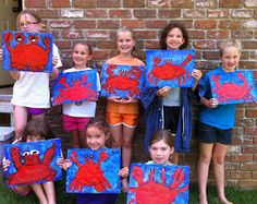 Sleepyhead Designs Studio: What I learned at Summer Art Camp!