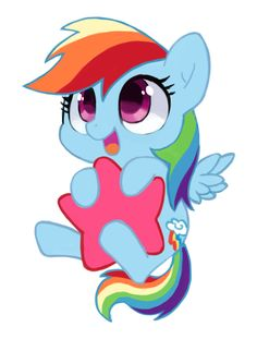 Little Star Rainbow Dash by *suikuzu on deviantART Wittle Wainbow Dashie Rainbow Dash