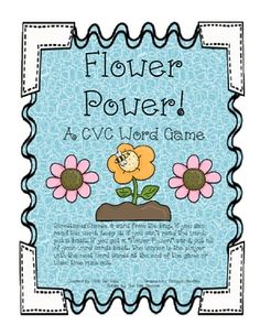 Flower Power! a cvc word game