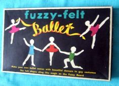 I had this one. I loved it. Only, I was perhaps a bit more violent with my childhood storyboarding - I used to pretend some of them were doing kung fu kicks instead of ballet poses.