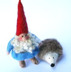 Tomte and hedgehog...even more perfect!