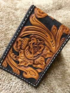 Rose Detail Wallet, might have to try to make