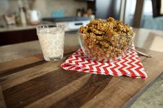 Vitamin packed pumpkin spice granola for Fall