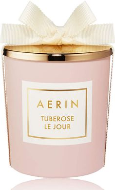 Tuberose le Jour, Candle - This exquisite Tuberose-scented candle fills the room with the fresh, bright scent of sun-drenched Neroli, Orange Flower, cool Jasmine and the smooth woodiness of Cashmeran and Cedarwood. Beauty Companies, Luxury Candles, Orange Flowers, Estee Lauder, Scented Candles, Perfume Bottles, Fragrance, Pure Products, Nordstrom