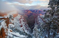 Winter's Last Gasp | Flickr - Photo Sharing! Grand Canyon near Yaki Point