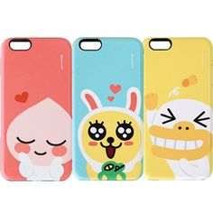 Genuine Kakao Friends Color Combo Case iPhone 6/6S Case iPhone 6/6S Plus Case…