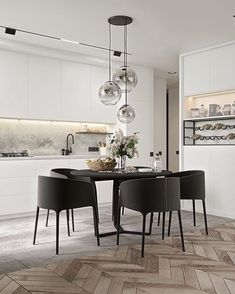 Dining room furniture ideas that are going to be one of the best dining room design sets of the year! Get inspired by these dining room lighting and furniture ideas! Dining Room Lamps, Dining Room Lighting, Dining Room Design, Dining Rooms, Dinning Table, Design Room, Kitchen Lighting, Dining Chairs, Kitchen Interior