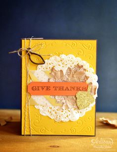 Stampin Up Arisan Blog Hop- Give Thanks   Creations by Mercedes