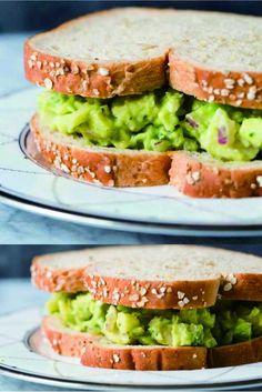 Avocado Chicken Salad - avocado, black pepper, chicken, healthy, recipes, salad