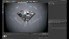 Creating Diamond in Cinema 4D More info at http://emilsvfx.lv/?p=526