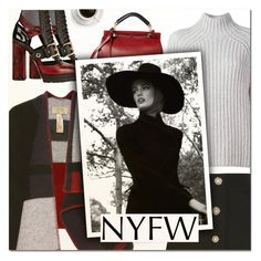 """""""Pack for NYFW II"""" by vampirella24 ❤ liked on Polyvore featuring Burberry, Theory, Miu Miu and Chloé"""