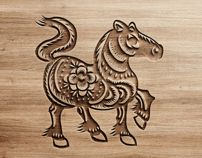This is a Vector Illustrations of a Chinese new year 2014 Year of the horse which include 4 different design. Paper cutting is a traditional art done by Chinese in China.This Chinese new year 2014 Year of the horse can be easily used in Adobe Photoshop … Chinese New Year 2014, Horse Clip Art, Horse Clipping, Happy New Year Images, Happy Year, Year Of The Horse, Picture Source, Horse Crafts, Horses And Dogs