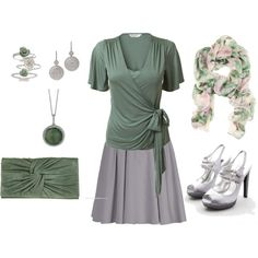 jade What I would wear on St. Paddy's Day if I weren't working