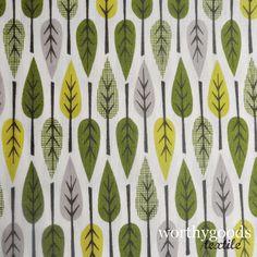 tree textile print