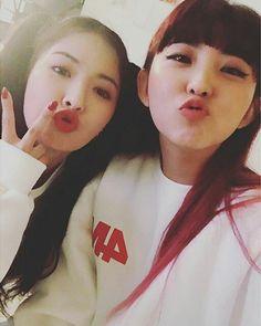 Hyuna and Sohyun ♥