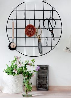 i like this kitchen decoration! i wonder where i can buy this circle?  Boligliv