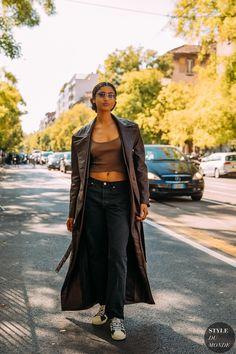 Street Snap, Street Chic, Street Style, Milan Fashion, Street Fashion, Street Looks, Beautiful Black Women, Fashion Photo, Duster Coat
