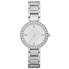 Relic® Women's Silvertone w/ Crystals Watch - $48 on black friday... hmmm
