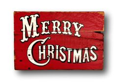 Vintage Merry Christmas Sign - Christmas Decorations - Rustic Christmas Sign - Old Fashioned Christmas Decor - Farmhouse Christmas Decor Merry Christmas Sign, Family Christmas Cards, Christmas Signs Wood, Holiday Signs, Merry Little Christmas, Christmas Art, Christmas Projects, Christmas Decorations, Christmas Ideas