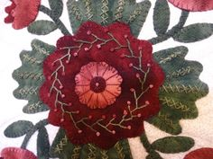 Best wool applique and stitches images in felt