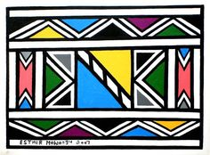 1000+ images about NDEBELE - AFRICAN PATTERNS on Pinterest African Design, African Art, Tribal Patterns, African Patterns, Arabic Pattern, School Art Projects, Pattern Images, Arte Popular, Art Classroom
