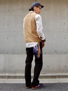 Levi'sのデニムパンツ「505(TM)-レギュラーフィット/ ORIGINAL BLACK RINS J027」を使ったnesaiのコーディネートです。WEARはモデル・俳優・ショップスタッフなどの着こなしをチェックできるファッションコーディネートサイトです。