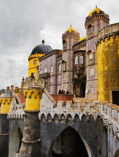 Pena National Palace,Sintra, Portugal: