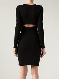 HELMUT LANG - structured dress
