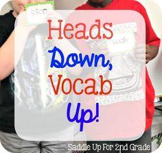 Heads Down, Vocabula