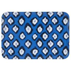 The small Ikat tray is perfect for serving tea and coffee.