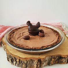 Tarte au chocolat noir sans cuisson - michelerousseaudtp Valeur Nutritive, Pancakes, Pudding, Breakfast, Desserts, Food, Posts, Chocolate Cups, Chocolate Morsels
