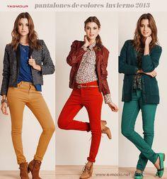 Pantalones de moda invierno 2013  Tendencias