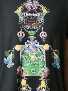 Mary Katrantzou 'jts' Tikki Man Print Tee - Bernard - Farfetch.com