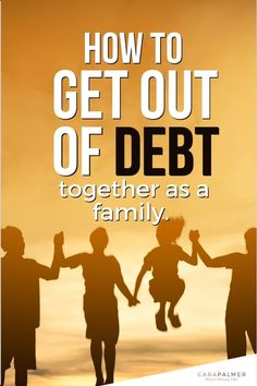 5 tips to get out of debt as a family. Learn the best way to stay motivated to get out of debt and include your children in the process. You'll develop a plan and a budget that the whole family can get on board with. Personal Finance Articles, Finance Tips, How To Get Motivated, Household Budget, Get Out Of Debt, Managing Your Money, Financial Success, Debt Payoff, Money Management