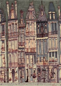 city / building illustration / Matthew H Sharack