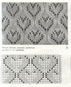 Lace knitting pattern 430 (Aran Lace) More - skincare Lace Knitting Stitches, Lace Knitting Patterns, Knitting Blogs, Knitting Charts, Lace Patterns, Easy Knitting, Knitting Designs, Knitting Projects, Stitch Patterns
