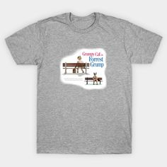 Forrest Grump Tee shirt   #teepublic #tshirt #parody #popart #funny #caturday #cats #famous #funtshirt #summerwear
