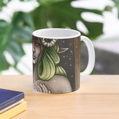 """""""Invocation of Spring"""" Mug by MonoMano Notebooks, Chiffon Tops, Cat Lovers, Explore, Mugs, Spring, Artist, Shirt, Cups"""